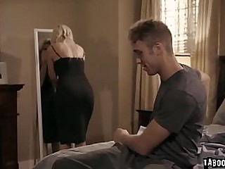 Horny stepson bangs their way cheater stepmom India Summer