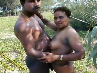 Part 4 Indian Desi Girlfriend beside Candidly Field Shire Outdoor Sex In Forest Radhika Bhabhi
