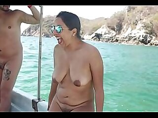 Naked girl of Indian origin overlie
