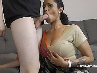 Indian Mom Gives Son's Bully A Blowjob