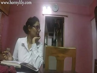 Indian Aunty Dealings Horny Lily Take Office HD