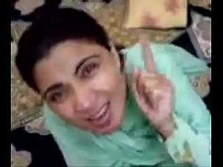 Pakistani Aunty sucks and fucks young tramp