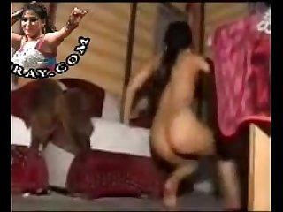 Desi Indian Pakistani Home Made Unclad Mujra  Dance 2