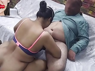 Indian Bhabhi Fuck Overwrought Lover On Feast-day